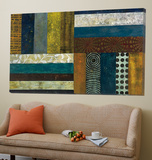 Juxtapose II Art by Cheryl Warrick
