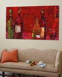 Vino Rojo Prints by Kellie Day
