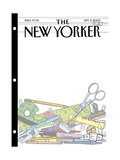 The New Yorker Cover - September 8, 2003 Premium Giclee Print by Bruce Eric Kaplan