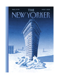 The New Yorker Cover - March 9, 2015 Premium Giclee Print by Birgit Schössow