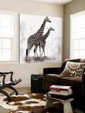 Giraffe II Kunstdruck von Debra Van Swearingen