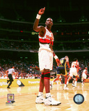 Dikembe Mutombo 1998 Action Photo