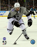 Drew Doughty 2015 NHL Stadium Series Action Photo