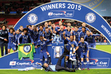 Chelsea - Capital One Winners Team Prints