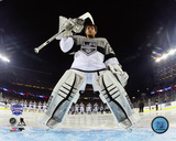 Jonathan Quick 2015 NHL Stadium Series Action Photo