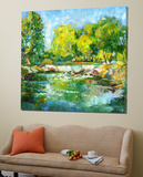 Saddle River Art by Ales Shaternik