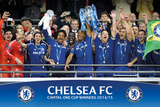 Chelsea - Capital One Winners Trophy Posters
