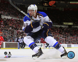 David Backes 2012-13 Action Photo