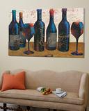Wine Splash Light I Art
