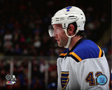 David Backes 2014-15 Action Photo