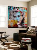 James Dean Poster von  Micha