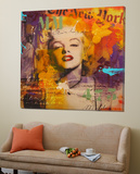 Marilyn 3 Poster by  Micha