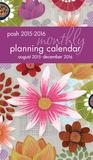 Posh: Painter's Floral - 2016 Monthly Pocket Calendar (17 Months) Calendars