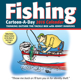 Fishing Cartoon-a-Day - 2016 Boxed Calendar Calendari
