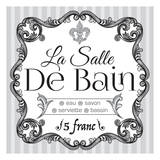French Bath Set Posters by Melody Hogan