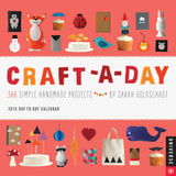 Craft-a-Day Day-to-Day - 2016 Boxed Calendar Calendars