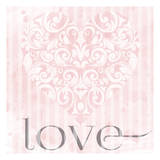 Love Print by Melody Hogan