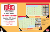 Dilbert  - 2016 16 Month Desk Blotter Calendars