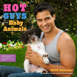 Hot Guys and Baby Animals - 2016 Calendar Calendars