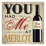 Wine & You 2 Plakater av Melody Hogan