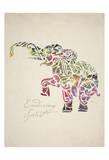 Elephant Set 02 Poster af Melody Hogan
