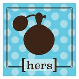 His n Hers Prints by Melody Hogan