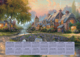 Thomas Kinkade Painter of Light - 2016 Poster Calendar (16 Month) Calendars