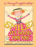 Mary Engelbreit Smile - 2016 Weekly Planner Calendars