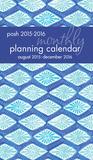Posh: Indigo - 2016 Monthly Pocket Calendar (17 Months) Calendars