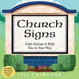 Church Signs Day-to-Day - 2016 Boxed Calendar Calendars