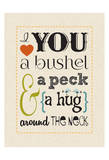 Bushel & Peck Prints by Melody Hogan