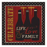 Toast to Life 2 Posters by Melody Hogan