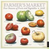 Farmer's Market - 2016 Calendar Calendriers