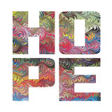 Marbled Words Posters by Melody Hogan