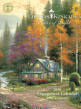 Thomas Kinkade Painter of Light with Scripture - 2016 Engagement Calendar Planner Calendars