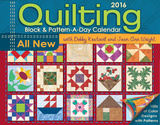 Quilting Block & Pattern-a-Day - 2016 Boxed Calendar Calendars