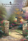 Thomas Kinkade Painter of Light - 2016 Monthly Pocket Planner Calendars