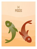 Pisces Posters by Christian Jackson