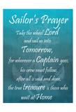 Sailor's Prayer Art by Sheldon Lewis