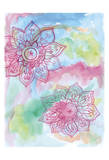Watercolor Blooms 2 Prints by Pam Varacek