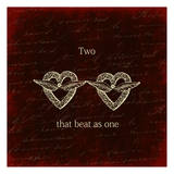Two Hearts Posters by Sheldon Lewis