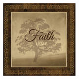 Faith Print by Melody Hogan