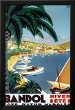 Bandol Hiver Ete Posters by Roger Broders