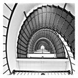 Stairs Print by Sandro De Carvalho