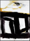 Zinc Doors Mounted Print by Franz Kline