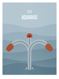 Aquarius Posters by Christian Jackson