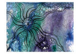 Aqua Life 1 Print by Pam Varacek