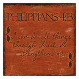 Philippians 4-13 Art by Taylor Greene