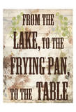 Lake Dinner Posters by Sheldon Lewis