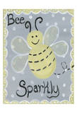 Bee Sparkly Prints by Tammy Hassett